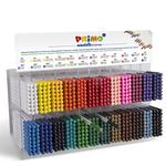 Expo da banco pastelli colorati Minabella - 24pz x 24 colori assortiti - Primo