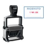 Timbro Professional 4.0 5460/L1 datario + RICEVUTO - 56x33 mm - 4 mm - autoinchiostrante - Trodat®