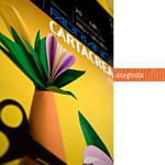 Cartoncino CartaCrea - 35x50cm - 220gr - aragosta - Fabriano - Conf.10 fogli