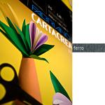 Cartoncino CartaCrea - 35x50cm - 220gr - ferro - Fabriano -  blister 10 fogli