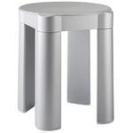 Sgabello componibile - 37x37x39 cm - capacità massima 100 kg - bianco - Mar Plast