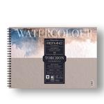 Blocco Watercolour Torchon - 210x297mm - 12fg - 300gr - spiralato - Fabriano