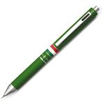 Penna a sfera a scatto multifunzione - fusto verde gommato Italia - Osama