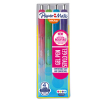 Penna a sfera a scatto Inkjoy Gel - punta 0,7mm  - rosa, lime, viola, blu - Papermate - astuccio 4 penne
