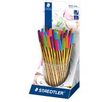 Penna a sfera Noris Stick - 6 colori moda assortiti - punta 0,35mm - Staedtler