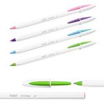 Penna a sfera Cristal Up con cappuccio - punta media 1,2mm - fun  - Bic - conf. 20 pezzi