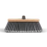 Scopa Spazzesterni - coccia in legno - 28 cm - Perfetto