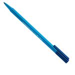 Pennarello Triplus Color punta feltro - tratto 1,00mm - ciano - Staedtler