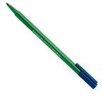 Pennarello Triplus Color punta feltro - tratto 1,00mm - verde prato - Staedtler