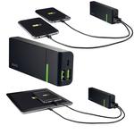 Caricatore portatile - 2 porte USB - 5200 mAh - Leitz Complete