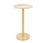 Tavolo Woody - altezza 110 cm - diametro piano 60 cm - faggio - Paperflow