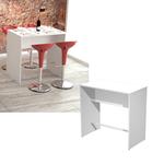 Tavolo alto Ristoro - 110x70x105 cm - bianco - Artexport