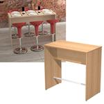 Tavolo alto Ristoro - 160x70x105 cm - faggio - Artexport