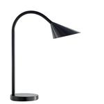 Lampada da tavolo Sol - a led - 4W - nero - Unilux