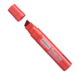 Marcatore permanente N50 - punta a scalpello da 8,00mm a 15,40mm - rosso - Pentel