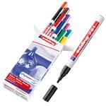Marcatori 751 - 10 colori assortiti - punta fine da 1,0 a 2,0mm - Edding - astuccio 10 marcatori