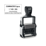 Timbro Professional 4.0 5440 Datario - 49x28 mm - 4 mm - personalizzabile - autoinchiostrante - Trodat®