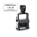 Timbro Professional 4.0 5460 Datario - 56x33 mm - 4 mm - personalizzabile - autoinchiostrante - Trodat®