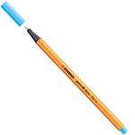 Fineliner Point 88 - tratto 0,4mm - azzurro neon - Stabilo