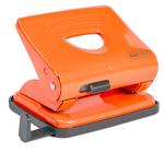 Perforatore 825 - massimo 25 fogli - 2 fori - arancio - Rapesco