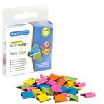 Molle di ricambio per Supaclip® 40 - colori assortiti - Rapesco - conf. 50 pezzi