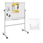 Lavagna magnetica girevole Professional - 90x120 cm - bianco - Bi-Office