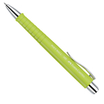 Penna a sfera Polyball - punta 0,7mm - fusto lime - Faber Castell