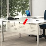 Controventatura Easy Plus - per scrivania L160cm - 148x30cm - Artexport
