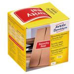 Etichette per spedizioni - icona SECURITY SEAL - 78x38 mm - Avery - rotolo da 100 etichette