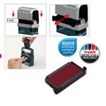 Tampone di ricambio Trodat 6/4911 - rosso - blister da 3 pezzi