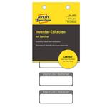 Etichetta per inventario Avery - autoplastificata - 50x20 mm - 5 etichette per foglio - blister da 10 fogli