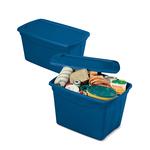 Contenitore multiuso ToteBox - 61,3x47x40 cm - blu - Terry