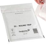 Busta imbottita Mail Lite® Round Trip - andata/ritorno - formato D (18x26 cm) - Sealed Air - conf. 100 pezzi