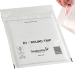 Busta imbottita Mail Lite® Round Trip - andata/ritorno - formato LL (23x33 cm) - Sealed Air - conf. 50 pezzi