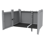 Transforming Extension Kit per armadi Modular - 78x43,6x41,4 cm - PPL - grigio - Terry