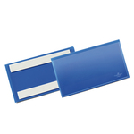 Buste identificative con bande adesive - 150x67 mm - Durable - conf. 50 pezzi