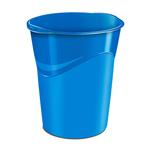 Cestino Gloss -  altezza 33,4 cm - diametro 30,5 cm - 14 lt - blu oceano - CEP