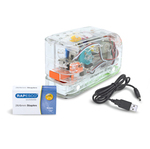 Cucitrice elettrica 626EL - Trasparente - USB - max 15 fg - Rapesco