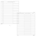 Registro cronologico - 31x24,5 - 14 pagine - Edipro