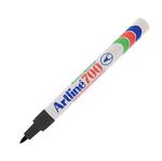 Marcatore permanent markers A 70 - punta tonda 0,70mm - nero - Artiline