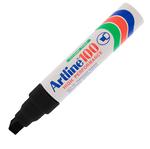 Marcatore permanent markers A 100 - punta scalpello 7,50-12,00mm - nero - Artline