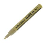 Marcatore Artline GOLD & SILVER - punta 2,3mm tonda - oro vernice - Artiline