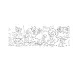 Rotolo creativo adesivo tema Fiabe 30X400cm Info