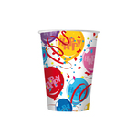 Bicchieri Happy - Balloons cc200 -  10 pezzi - Big Party