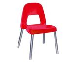 Sedia per bambini Piuma - H 31 cm - rosso - CWR