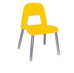 Sedia per bambini Piuma - H 31 cm - giallo - CWR
