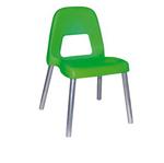 Sedia per bambini Piuma - H 31 cm - verde - CWR