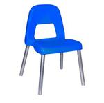 Sedia per bambini Piuma - H 35 cm - blu - CWR