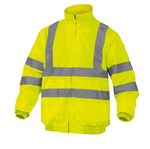 Giubbotto Reno HV alta visibilità - poliestere/poliuretano - taglia M - giallo fluo - Deltaplus