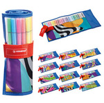 Rollerset individual Just - 25 colori assortiti - 68 pezzi - Stabilo